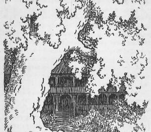 Den store eken som skygget for kongens slott